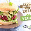 Foodtrends voor 2018: 'haute vegan' en veganistische fastfood wordt helemaal mainstream in 2018!