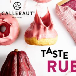 Ruby RB1 chocolade van Callebaut : Nieuw in ons gamma!